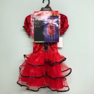 Totally Ghoul Costume: Frilly Lil' Devil (PM1938)